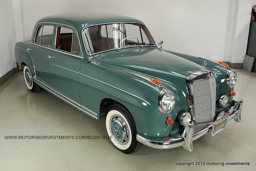 1958 mercedes benz 220s for 1958 mercedes benz 220s for sale