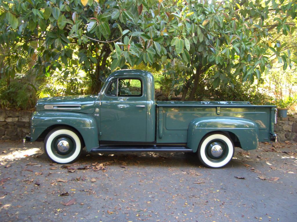Original Ford Flathead V8 Truck F2 F1 For Sale In San Diego California 1948 6