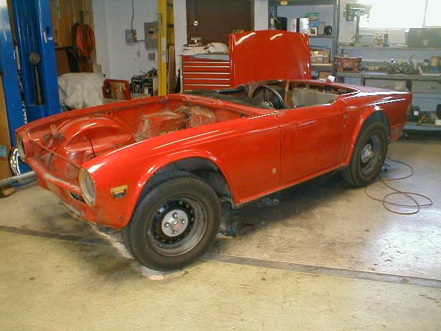 1972 Triumph Tr6 Restoration Page 1