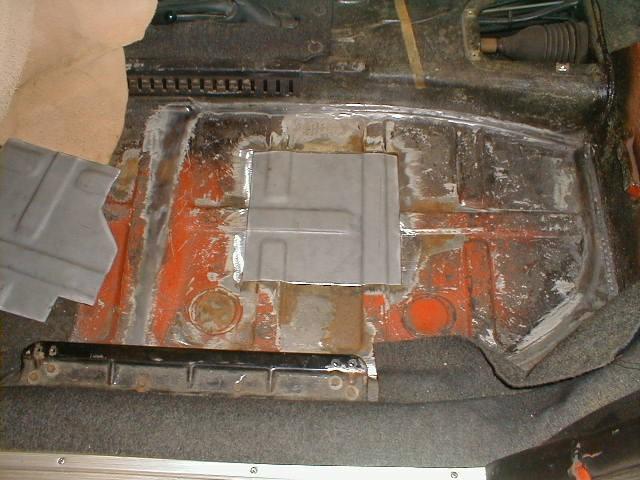 Porsche 911 Floor Rust Repair Done Right