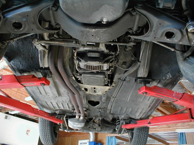 280sl California Roadster Undercarriage Photos