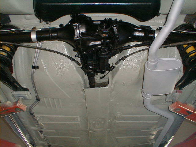 Mercedes 190sl Undercarriage Photo Page