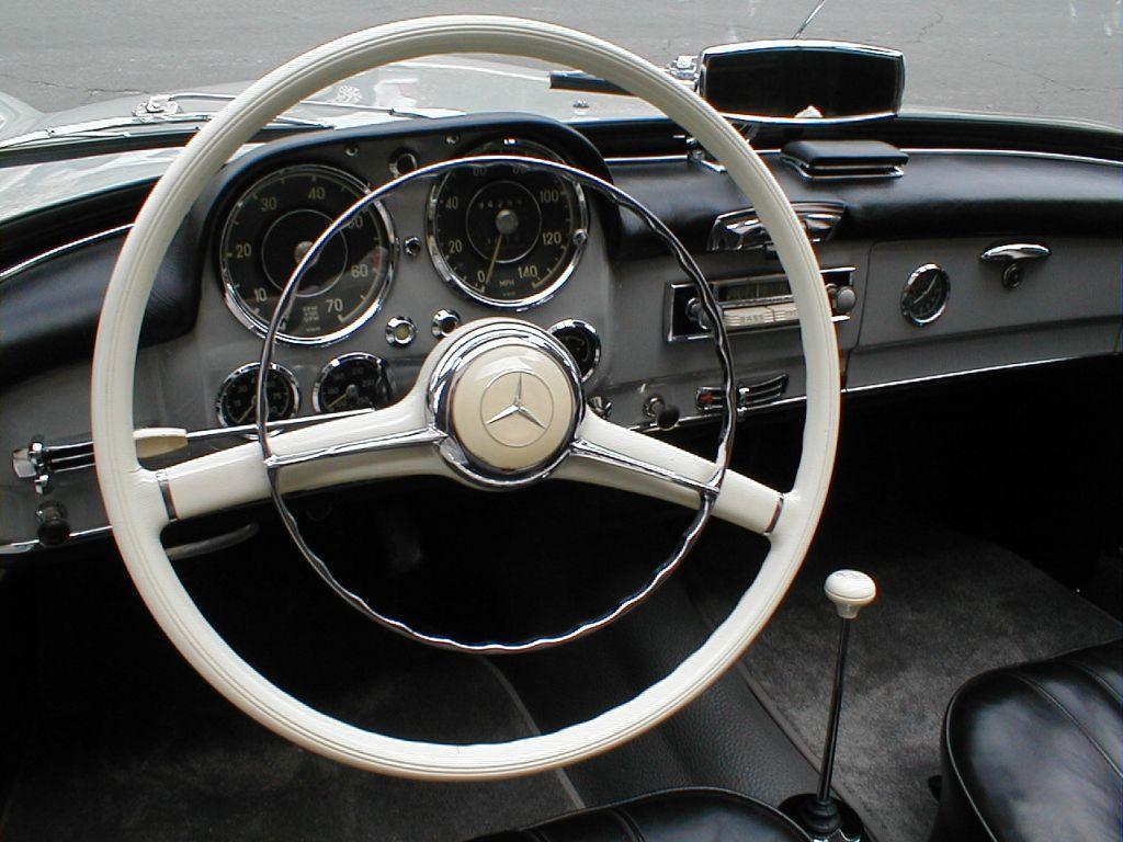 For Sale California Mercedes 190sl