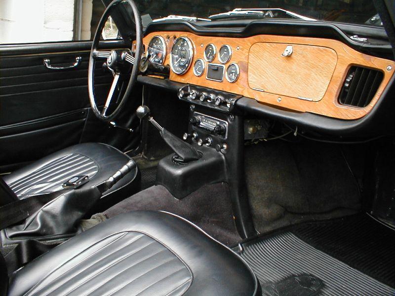 1967 Triumph Tr4a Interior Photo Page