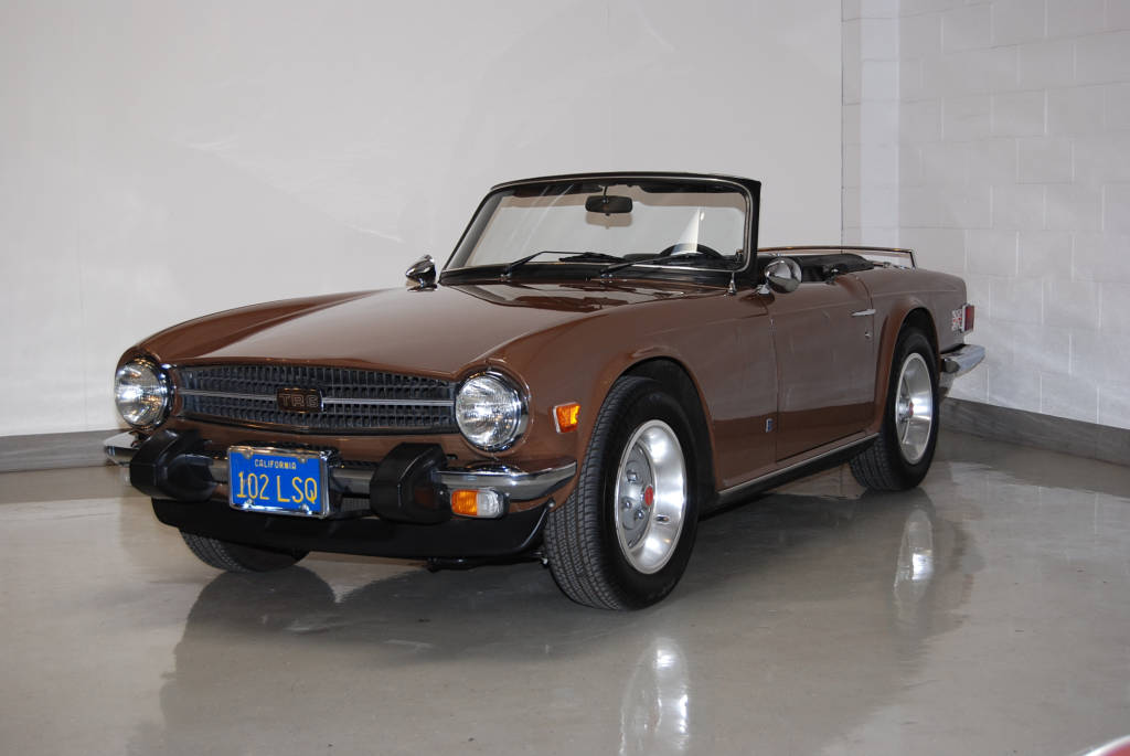 Motoring Investments low mileage Triumph TR6 OverDrive over drive ...