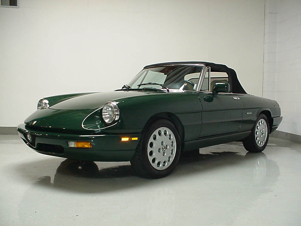 1992 alfa romeo spider veloce 37,000 miles for  automotive