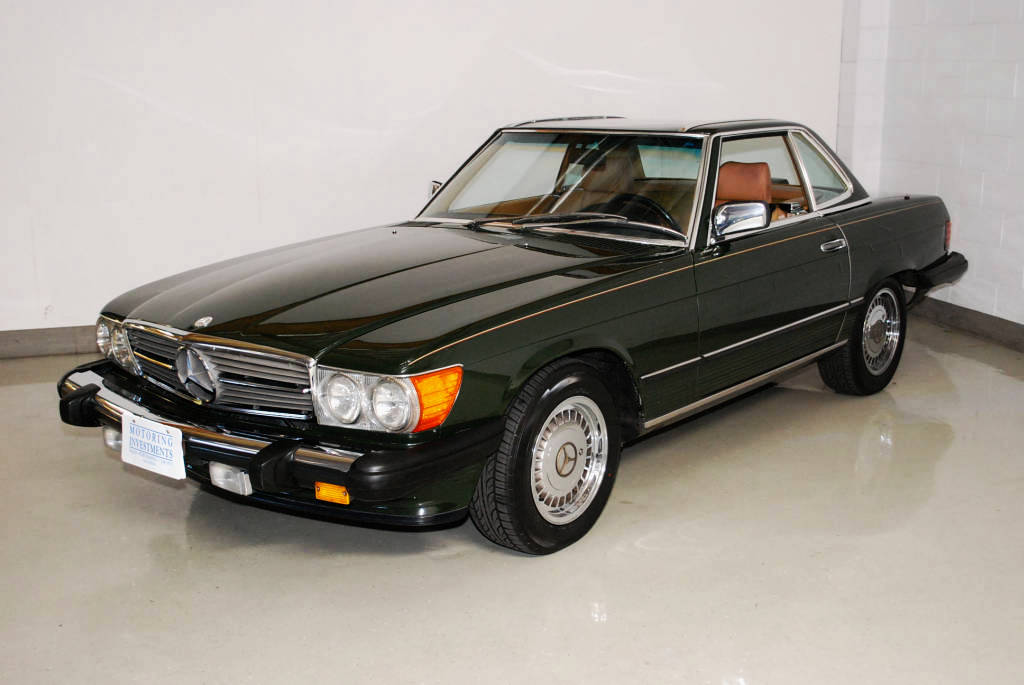 1986 mercedes 560sl value