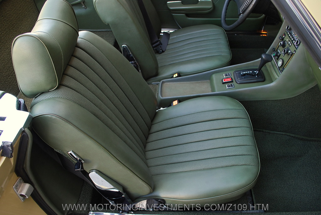 R107 450sl mercedes restoration of the seat upholstery for Mercedes benz original seat covers